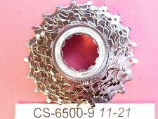 Shimano Ultegra 6500 - 9 Speed  11 / 21 cassette sprocket set - NOS L'eroica