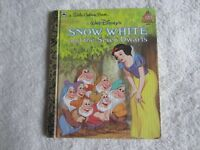 Walt Disney's Snow White and the Seven Dwarfs - Little Golden Book 1984