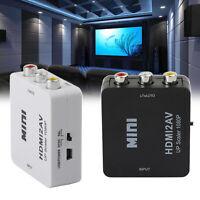 1080p HDMItoAV RCA Video Converter HDMI2AV Adattatore Per HDTV PS4 Proiettore T