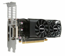 MSI GeForce GTX 1050 Ti 4GB LP GDDR5 Graphics Card