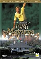 Highlights of The 1986 Masters Tournament 20th DVD