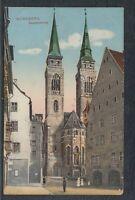 41140) AK Nürnberg Sebalduskirche 1914