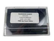 TWA Vintage Old 8mm Movie RAINDEER GAMES In Flight Video Film Rare BEN AFFLECK