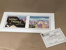 Bob Clampett Wabbitt Twouble Limited Edition Animation Cel Bugs Bunny Elmer Fudd