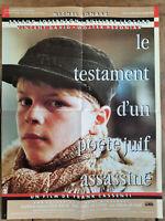 Plakat Le Testament D'Un Dichter Jüdisches Morde Frank Cassenti 40x60cm