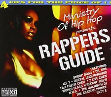 CD NEUF - MINISTRY OF HIP HOP - RAPPERS GUIDE / Edition coffret 4 CD - C6