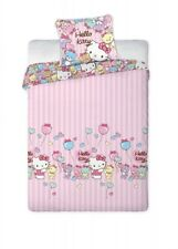 Hello Kitty Flanell-Bettwäsche, 2-teilig, 70 x 80 cm, 160 x 200 cm