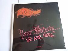 EARL BRUTUS  YOUR MAJESTY WE ARE HERE VINYL LP NEW SEALED