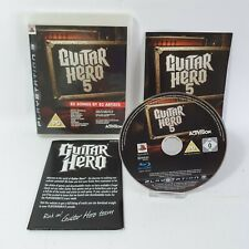 Guitar Hero 5 PS3 Sony Playstation 3 Game PAL Complete