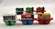 THOMAS & FRIENDS Minis 6 Christmas ADVENT Trains + Bonus Mini ~ Weighted