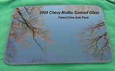 2004 CHEVY MALIBU YEAR SPECIFIC OEM FACTORY SUNROOF GLASS FREE SHIPPING!