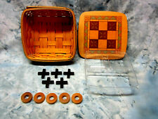 Longaberger Collectible Tic Tac Toe Basket Father's Day from 2001