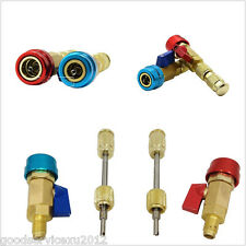 Red&Blue Car High Low Pressure R134a A/C Air Condition Valve Core Remover Tool