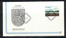 Finland 1977: #597 Europa - Scenic- Coat of Arms Cachet Ua Fdc:-Lot#4/11
