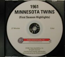 1961 Minnesota Twins in COLOR on DVD! - First Season!