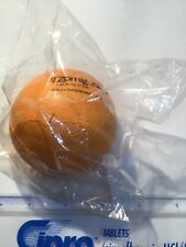 RARE ZOMIG ZMT  ORANGE STRESS BALL RUG REP PROMO NEW IN PACKAGE