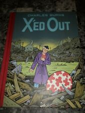 X'ed Out By Charles Burns Graphic Novel - Oversized HC First Edition - Free Ship