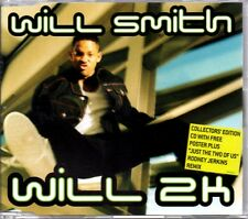 WILL SMITH - WILL 2K - 3 TRACK 1999 CD SINGLE + FREE POSTER