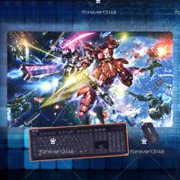 Hot Anime GUNDAM Keyboard GAME Mouse Pad Table Play Mat Otaku Gift 70*40cm#6-06
