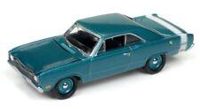 Johnny Lightning 1/64 1969 Dodge Dart Light Turquiose Die-Cast Car JLMC011A