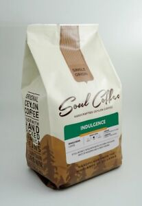 CEYLON SOUL HANDCRAFTED INDULGENCE DARK ROAST - WHOLE BEAN COFFEE 500G