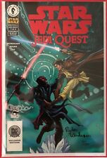 Star Wars: Jedi Quest (2001) #1 - Dynamic Forces Signed Comic Book - S&N - DHC