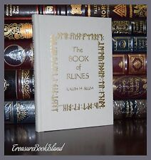 The Book of Runes by Ralph Blum 25th Anniversary Deluxe Hardcover Edition