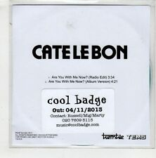(HA246) Cate Le Bon, Are You With Me Now - 2013 DJ CD