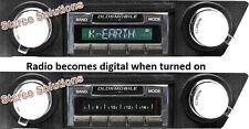 1966-67 Cutlass 442 NEW USA-630 II* 300 watt AM FM Stereo Radio iPod, USB, Aux