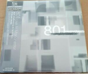 801 - Live in Manchester CD. Japanese Mini LP. Obi etc.
