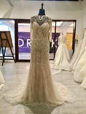 Demetrios Wedding Dress 694 Size 8 Beaded