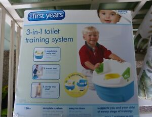 The First Years 3 In 1 Child Potty Training System