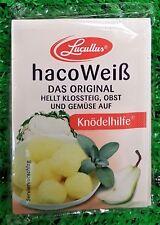(5,56€/100g) 5 Beutel Haco Weiß Knödelhilfe hellt Klossteig Obst Gemüse auf