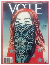 """TIME MAGAZINE """"VOTE"""" - NOVEMBER 2 & 9TH, 2020 - BRAND NEW"""