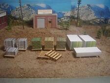 """Lumber yard detail set  """"O"""" Gauge"""