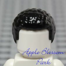NEW Lego Minifig BLACK HAIR - Boy/Girl Short Curly Afro Pixie SW Finn Head Gear