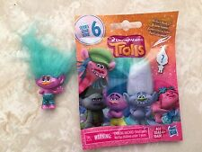 Trolls Series 6 Glitter Blind Bag CREEK Blue HAIR Figure Doll New Sealed!!