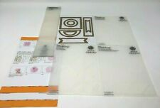 Bundle of Cricut Anna Griffin Paper Tricks Embossing Folders And Cutting Dies