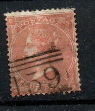 Gb Victoria Used Sg80 4d Red Position Sb mark as scan