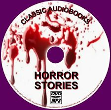 60+ CHILLING HORROR MP3 AUDIO BOOK NOVELS AND SHORT STORIES ENGLISH NEW ON PCDVD