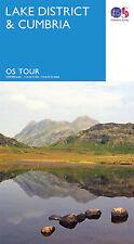Lake District Tour Map Ordnance Survey 3
