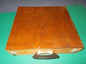 vintage wooden Homemade artist box