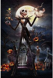 Jigsaw Puzzle 1000 Piece Wooden Puzzle Halloween Picture Family Decorations