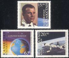 Kazakhstan 1996 Yuri Gagarin/Baikonur/Space Station/Cosmonautics Day 3v (n44804)