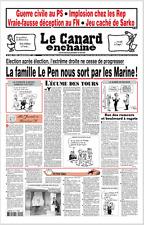 LE CANARD ENCHAÎNÉ n°5035 du 26/4/2017*famille LE PEN nous sort part les MARINE!