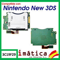 LECTOR DE CARTUCHO NINTENDO NEW 3DS SLOT SOCKET JUEGOS RANURA JUEGO FLEX CABLE