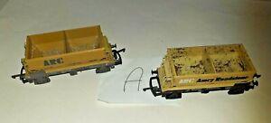 LIMA OO GAUGE L305636 and L305637 ARC etc. 50T PGA aggregate hopper wagons lot A