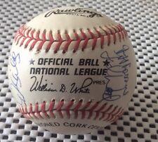 Montreal Expos Team Signed NL Baseball 1993 Dennis Martinez