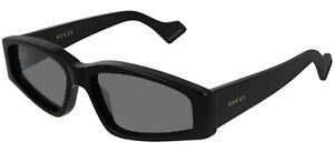 Gucci GG0705S Black/Grey (001 B) Sunglasses