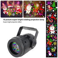 16Pattern Christmas Projector Light Night Light Lampe de projection de vacances
